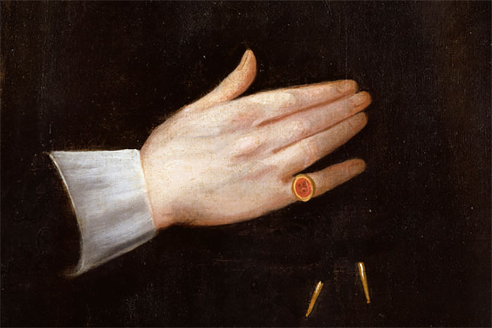The Founder's signet ring