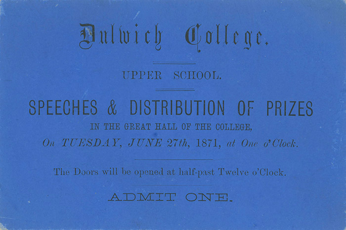 Speech Day and Prize Giving
