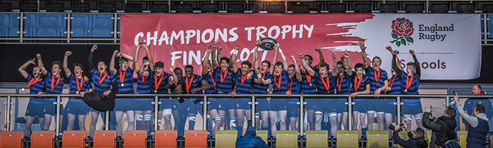 Double Title Rugby Champions