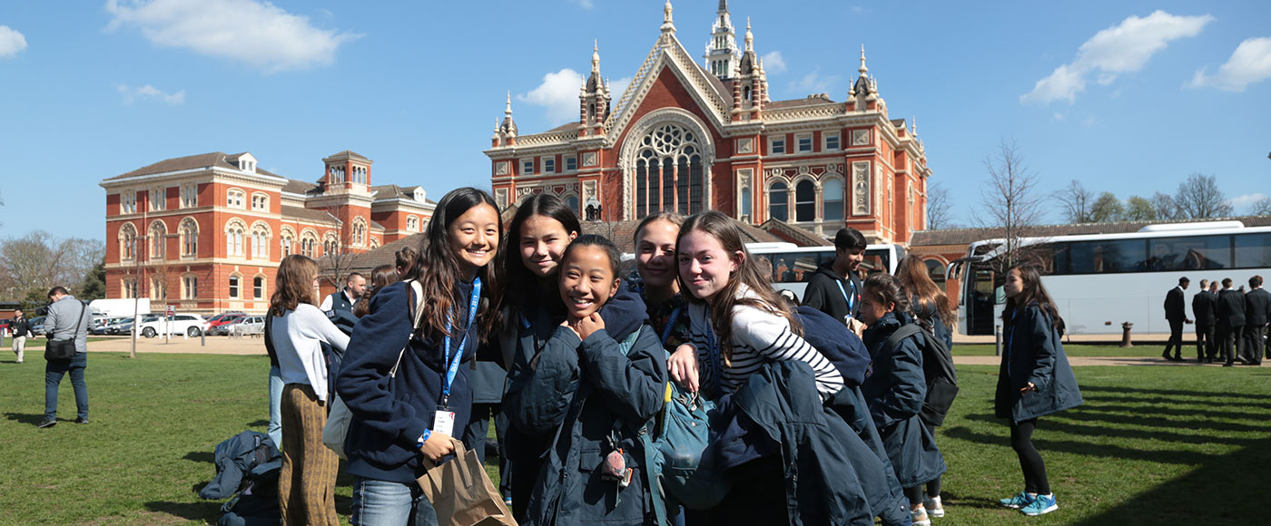 Arriving at Dulwich College