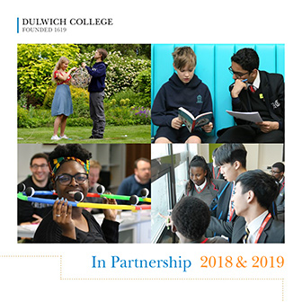 In Partnership 2018 & 2019 cover