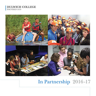 In Partnership 2016-17 cover