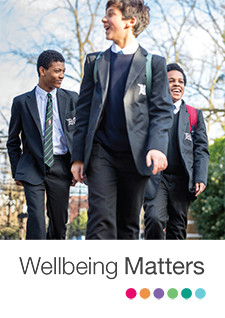 Wellbeing Matters booklet cover