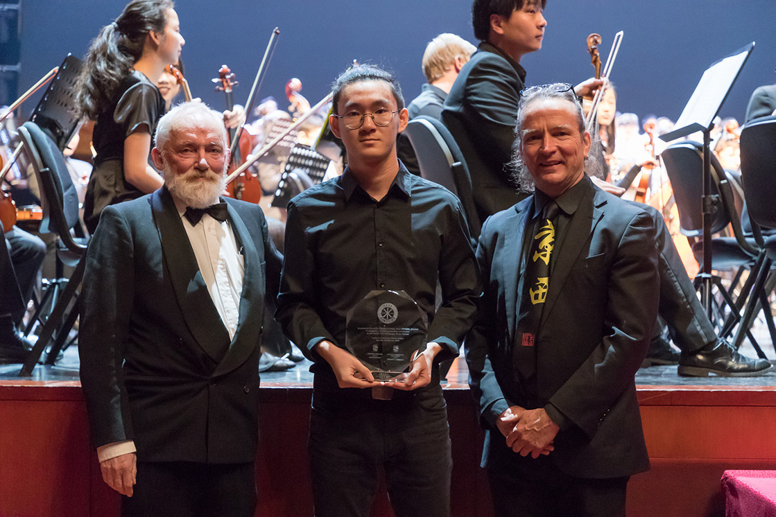 Year 11 student, Dulwich College Beijing, receives Jenkins Composition Award