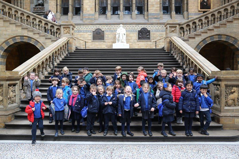 Reception Trip to Natural History Museum