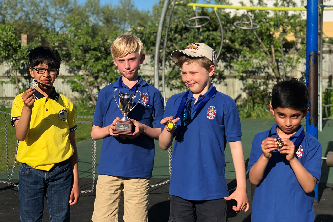 Junior School success at the CCF Chess Tournament Final