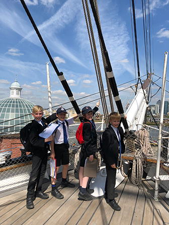 All Aboard:  Year 5 visit to the Cutty Sark
