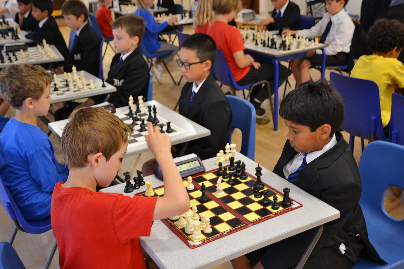 Dulwich College Junior School vs Rosendale Primary School chess competition