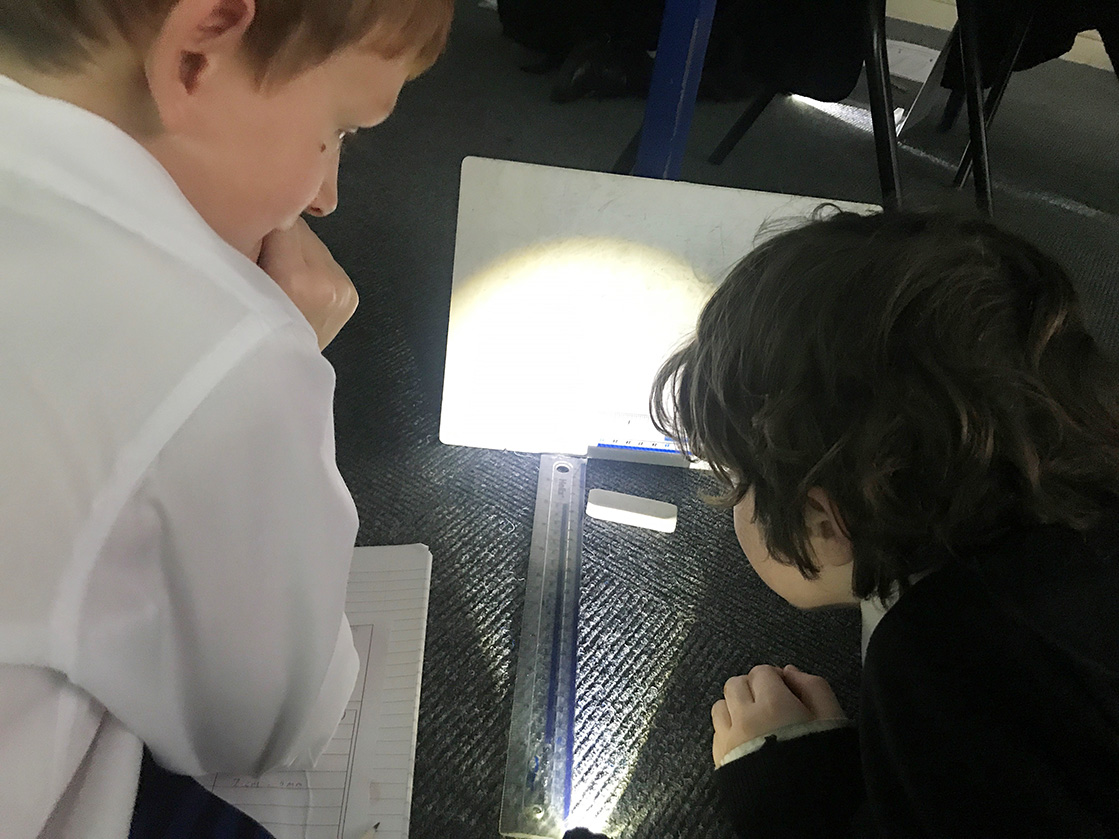 What's Lurking in the Shadows? Year 3 Investigate Light Sources