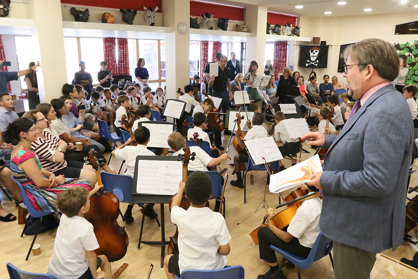 Successful Year 3 Strings Scheme 'Wombat Stew' Extravaganza Concert