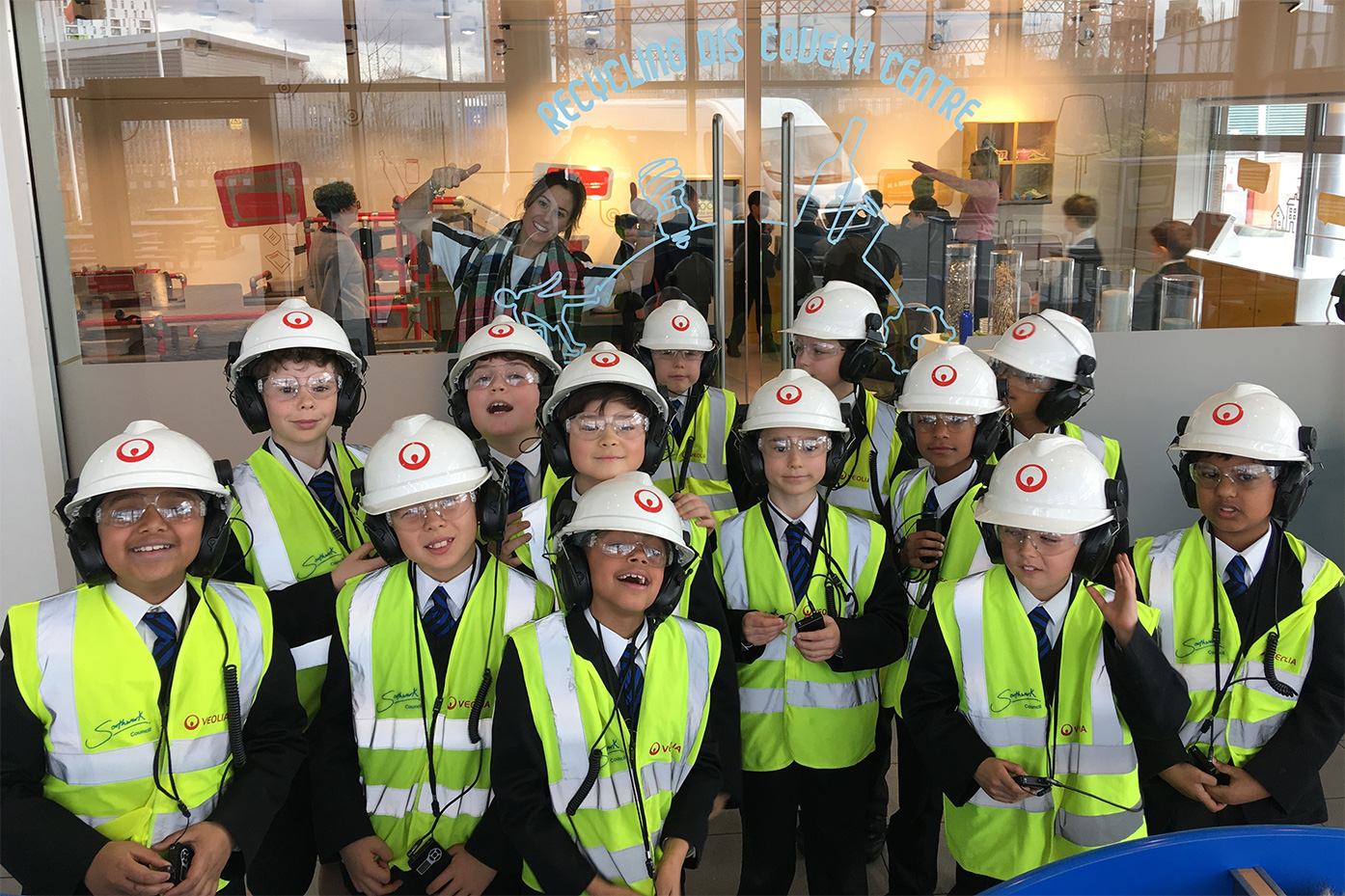 Year 4 trip to Europe's most advanced recycling centre