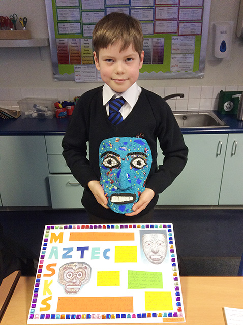 Year 5 Aztec Projects