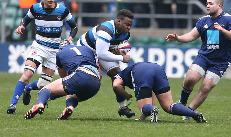 Beno Obano OA joins England rugby squad training camp