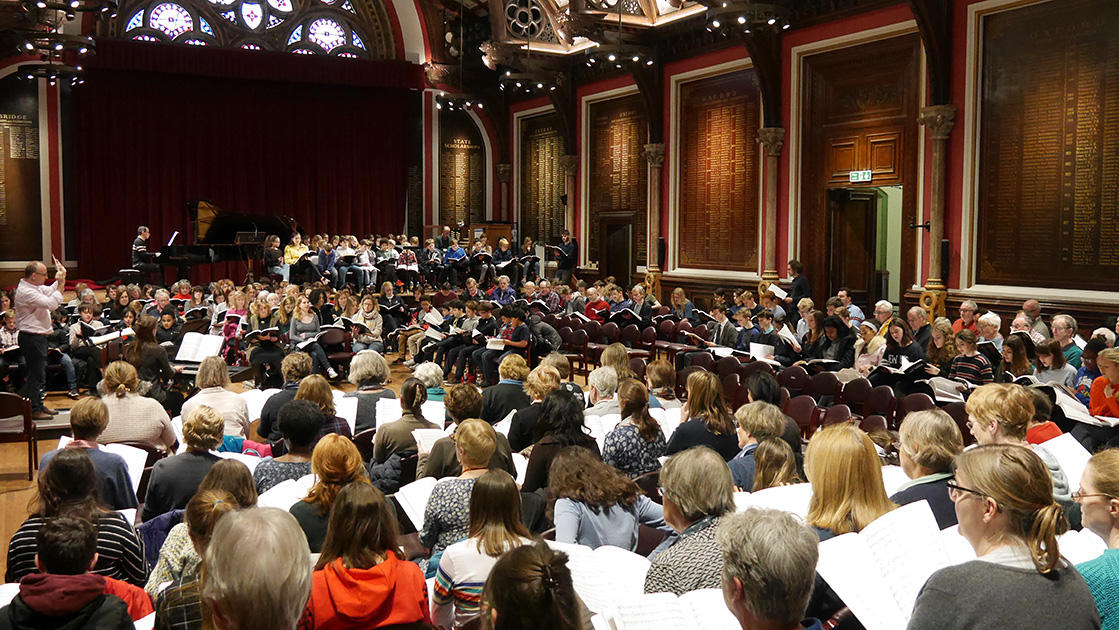 Rehearsals intensify for Britten's War Requiem
