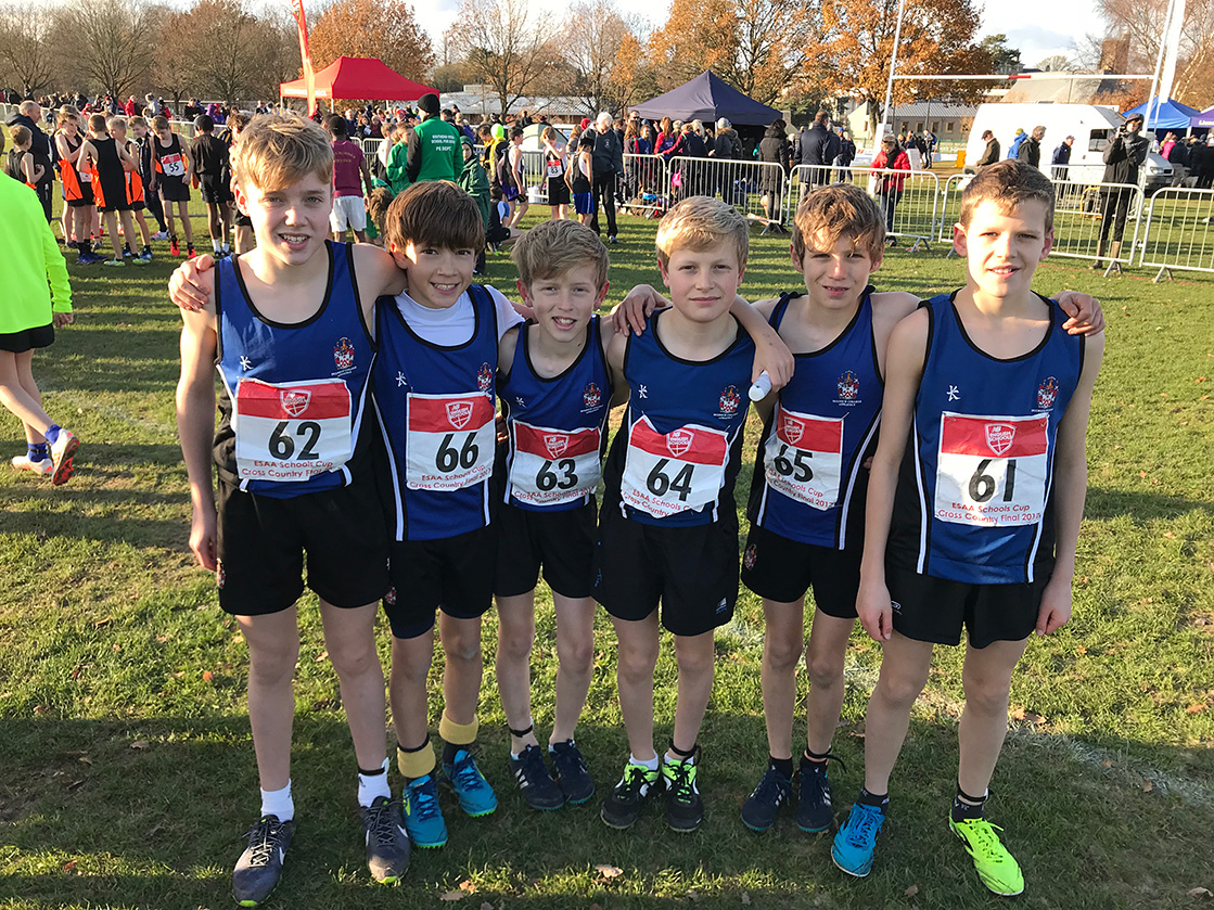 Cross Country Junior team