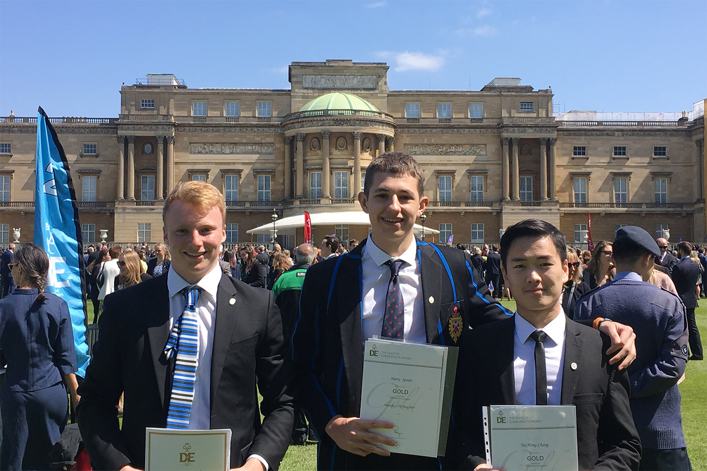 Duke of Edinburgh's Gold Award presentation at Buckingham Palace