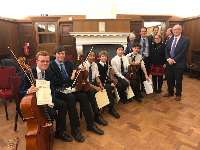 String Competition 2018