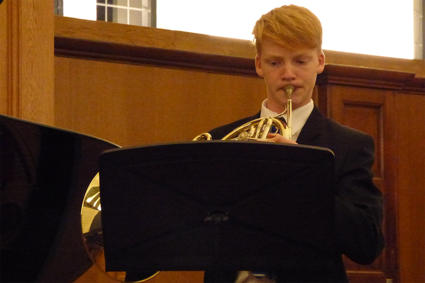French Horn player wins Junior Royal Academy of Music prize