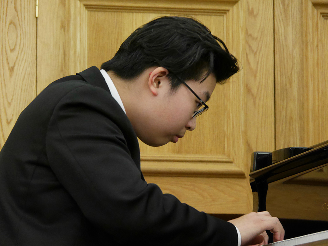 Success for DC Pianist at the Junior RAM Piano Competition