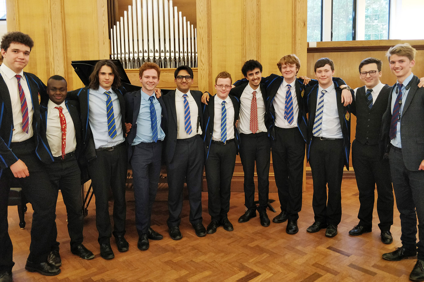 A memorable Leavers' Concert