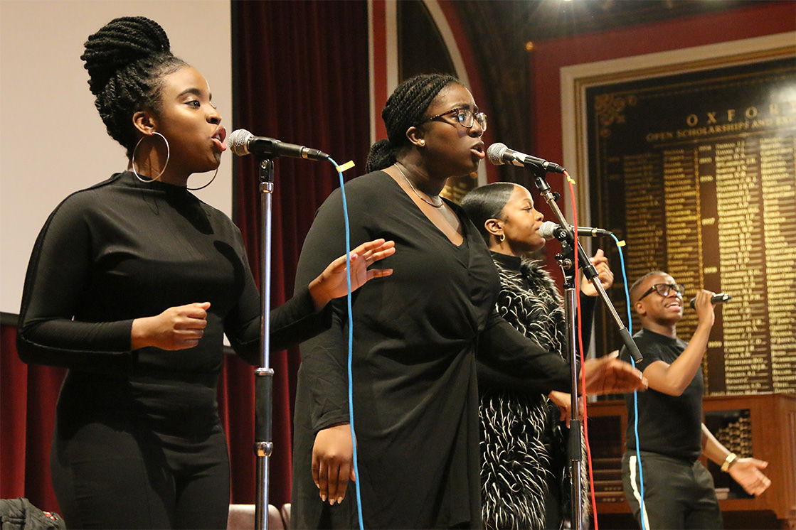 London Community Gospel Choir visits Dulwich College