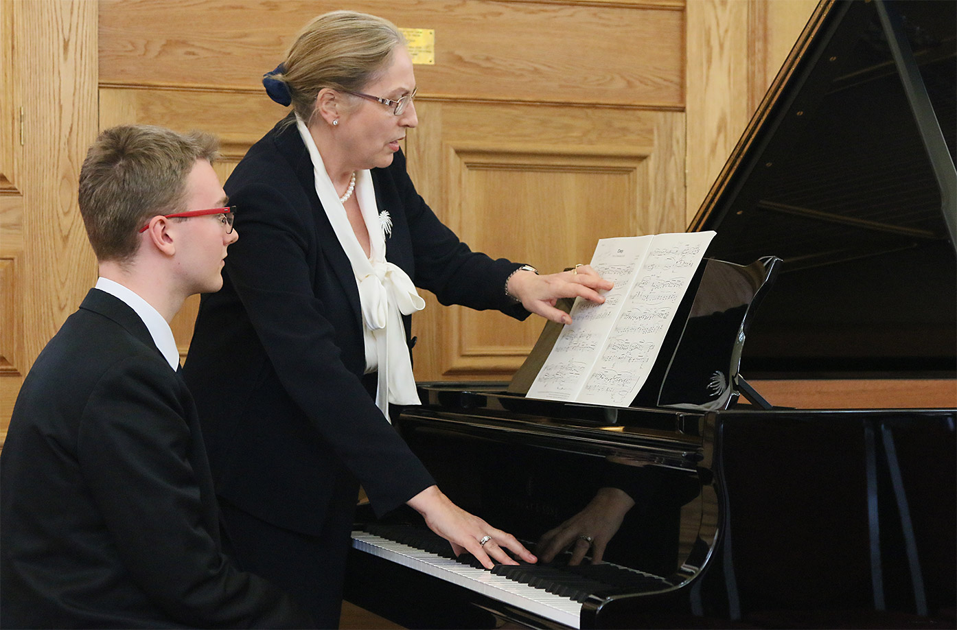 Masterclass with Professor Vanessa Latarche and Piano Festival