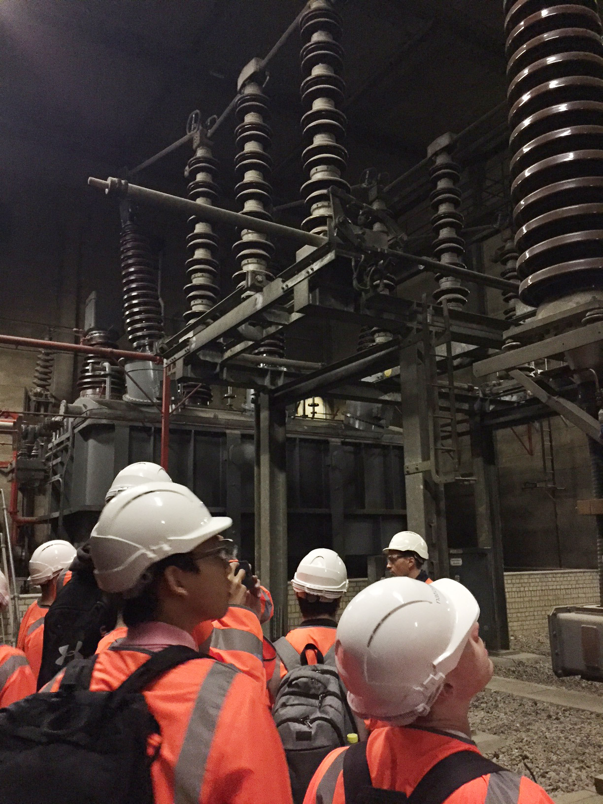 Aspiring Engineers visit Wimbledon Substation
