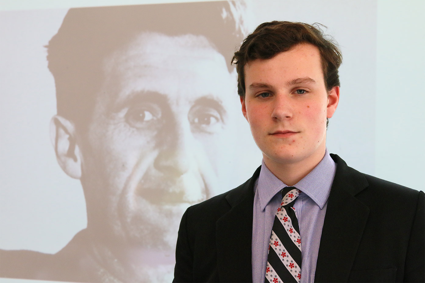 Joe Atkinson (Year 11)  is shortlisted for the prestigious Orwell Youth Prize