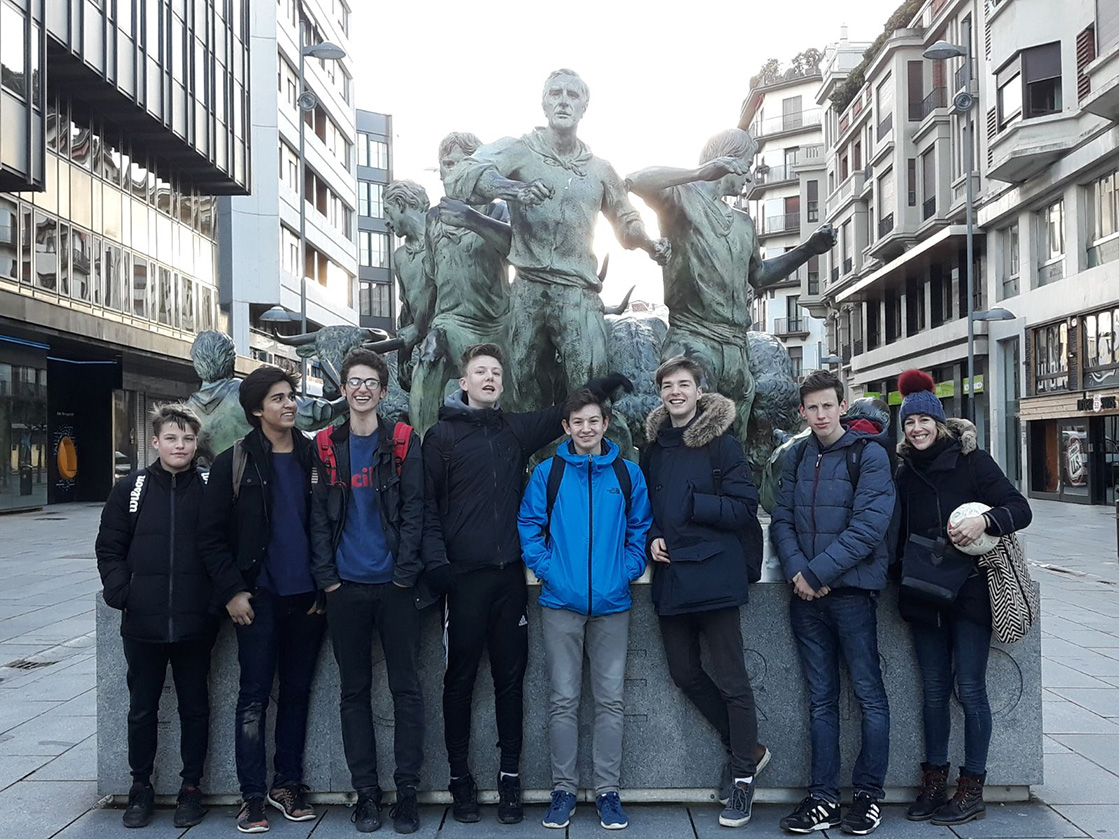 Year 11 Spanish trip to Navarre and the Basque Country