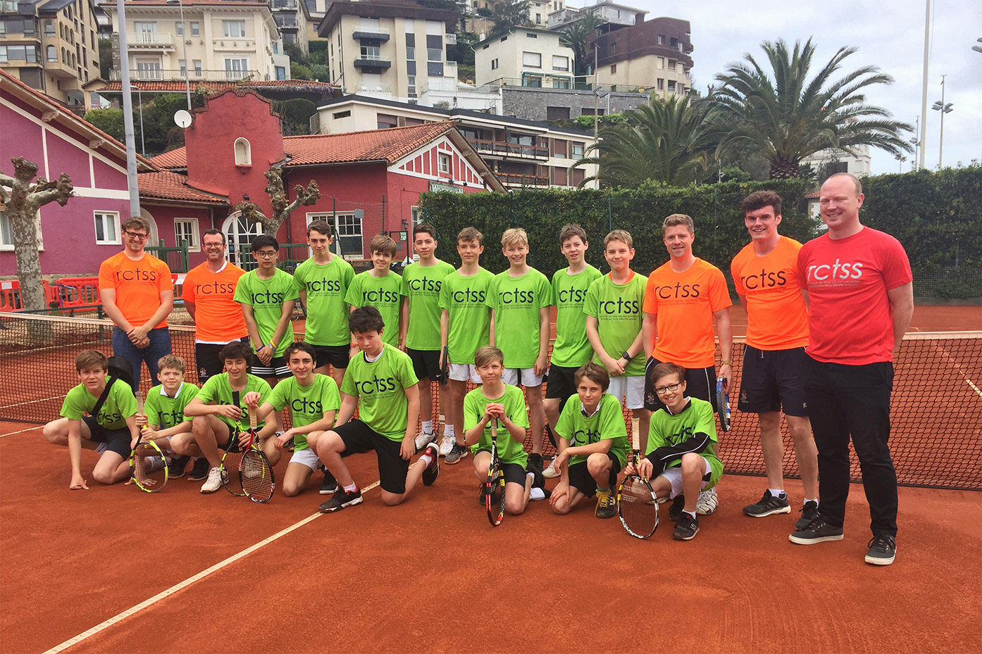 Year 9 Tennis Pre-Season Tour to San Sebastian
