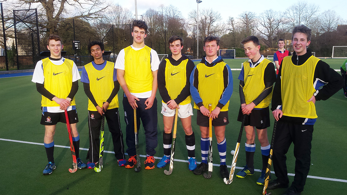 Upper School House Hockey Competition