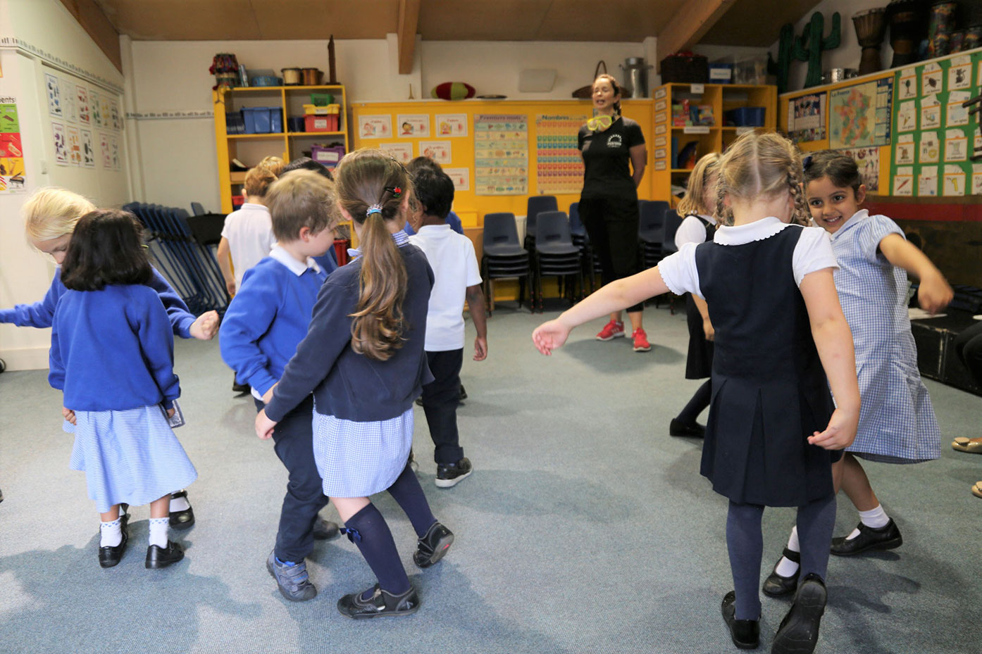 'Perform for Schools' dance workshop