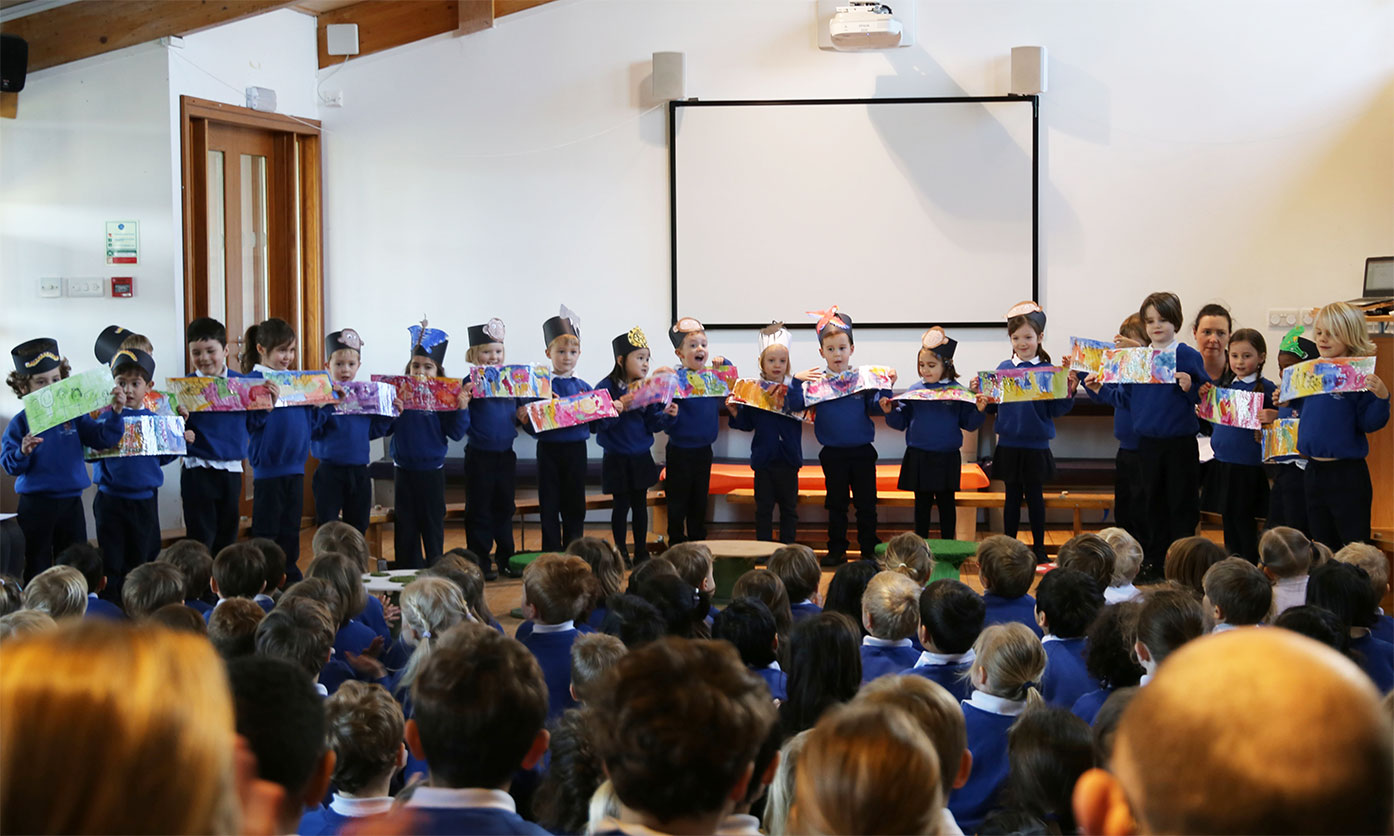 "Reception Assembly ""We Are Family!"""