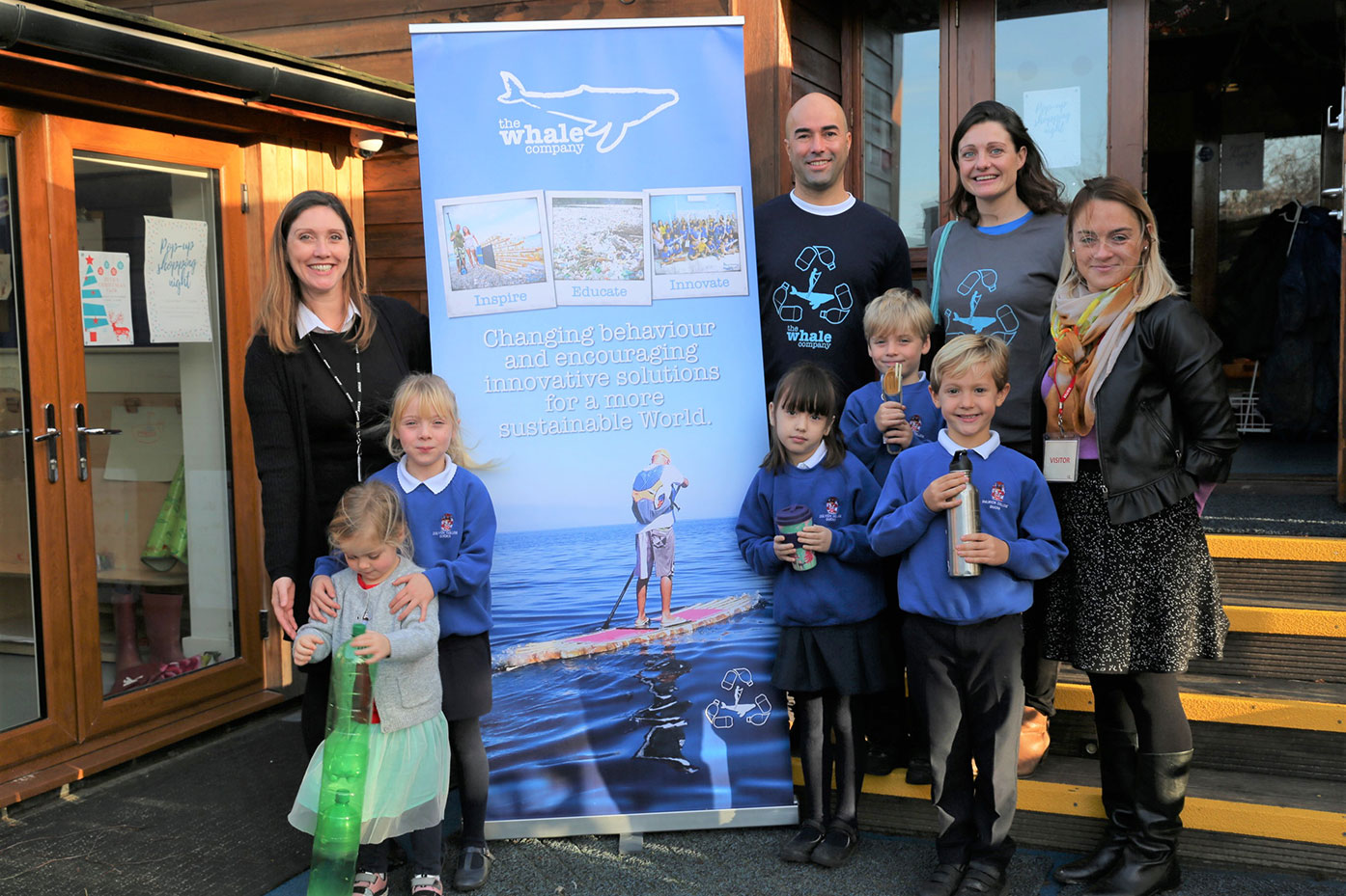School Council choose to support The Whale Company