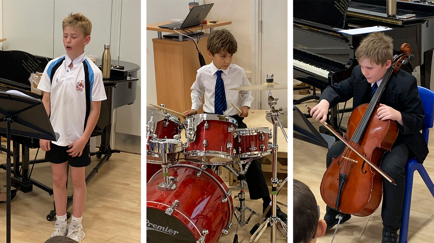 Pop in and Play Concert in the Junior School