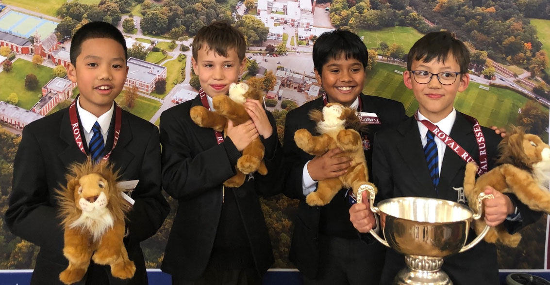 Royal Russell Maths Competition – Year 5 Winners