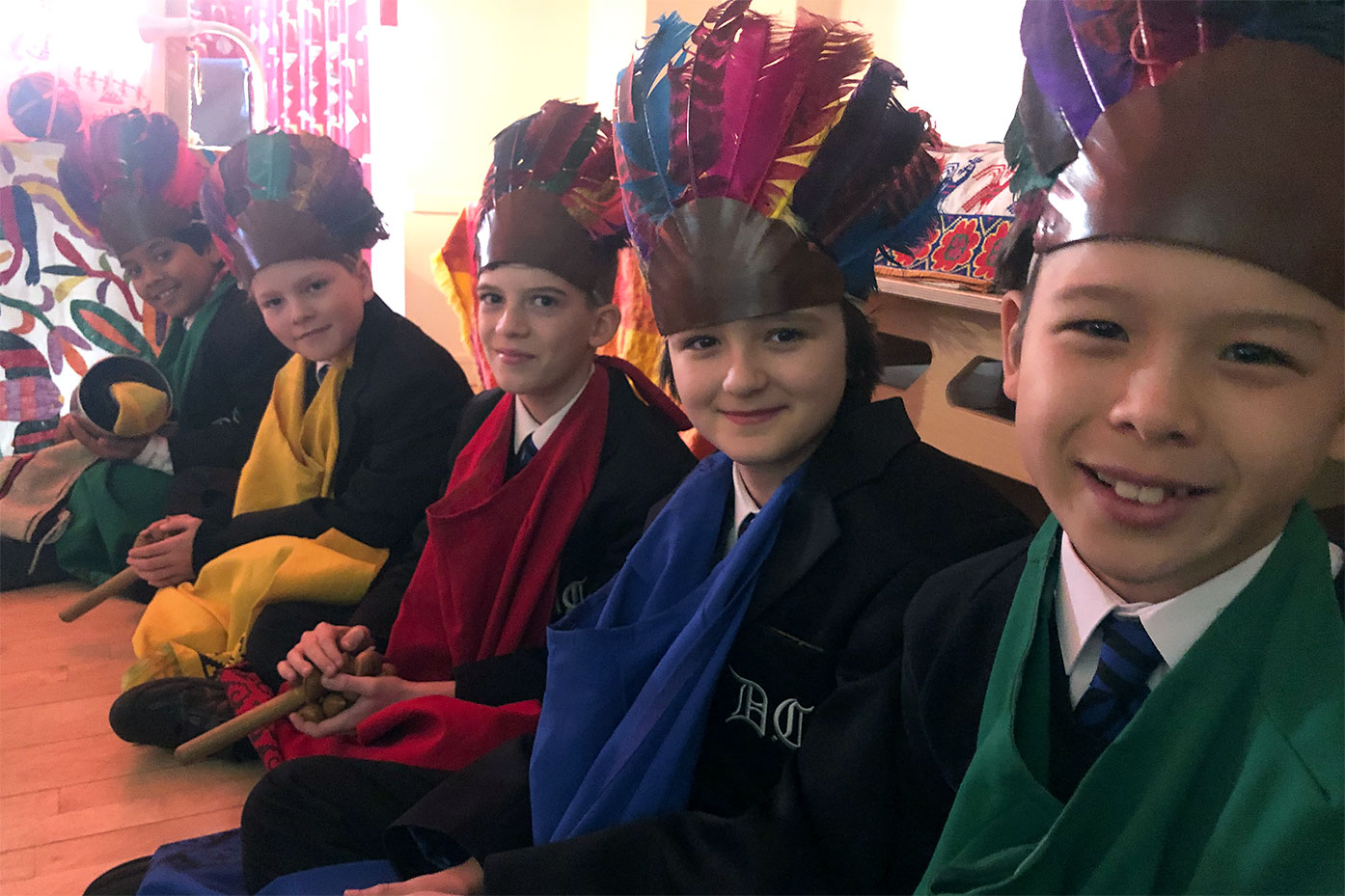 Year 5 visit from Mexicolore