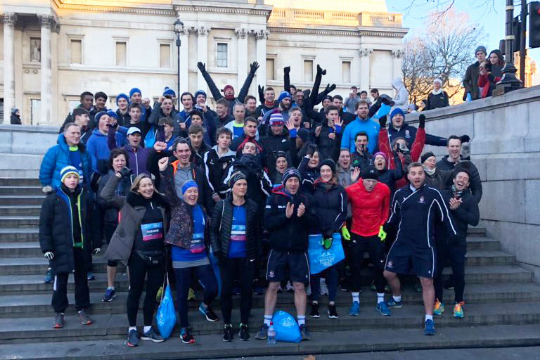 London Winter Run - Dulwich runners