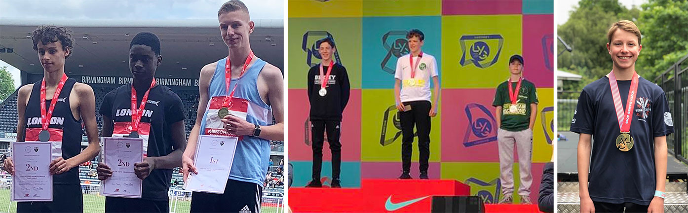 Athletics season ends with excellent results at ESAA Championships and London Youth Games