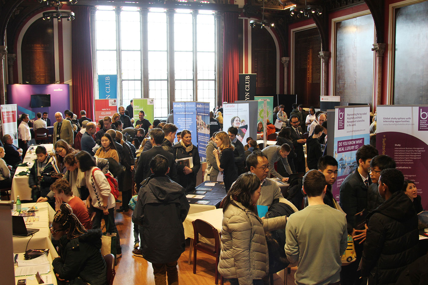The Dulwich College Courses and Careers Convention 2019
