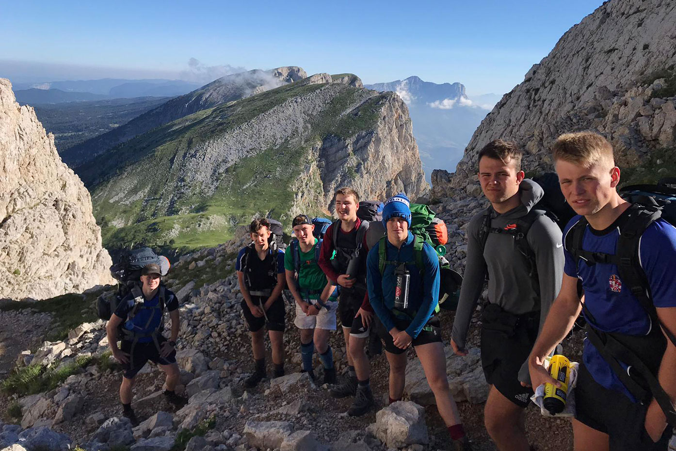 Duke of Edinburgh Gold Qualifying Expedition to the Vercors Plateau, France