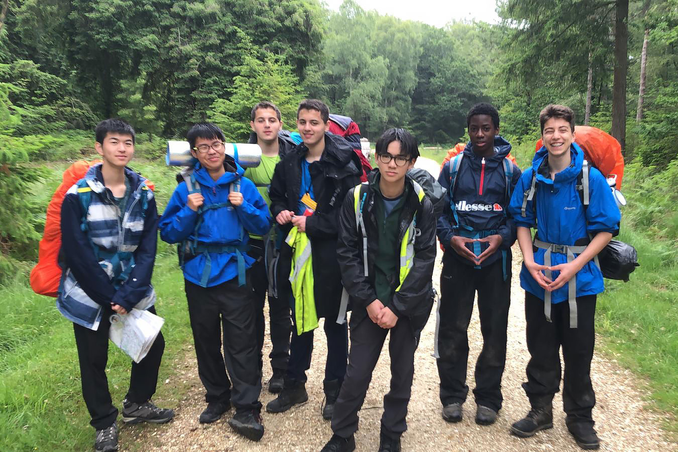 Duke of Edinburgh Silver Qualifying Expedition to the New Forest