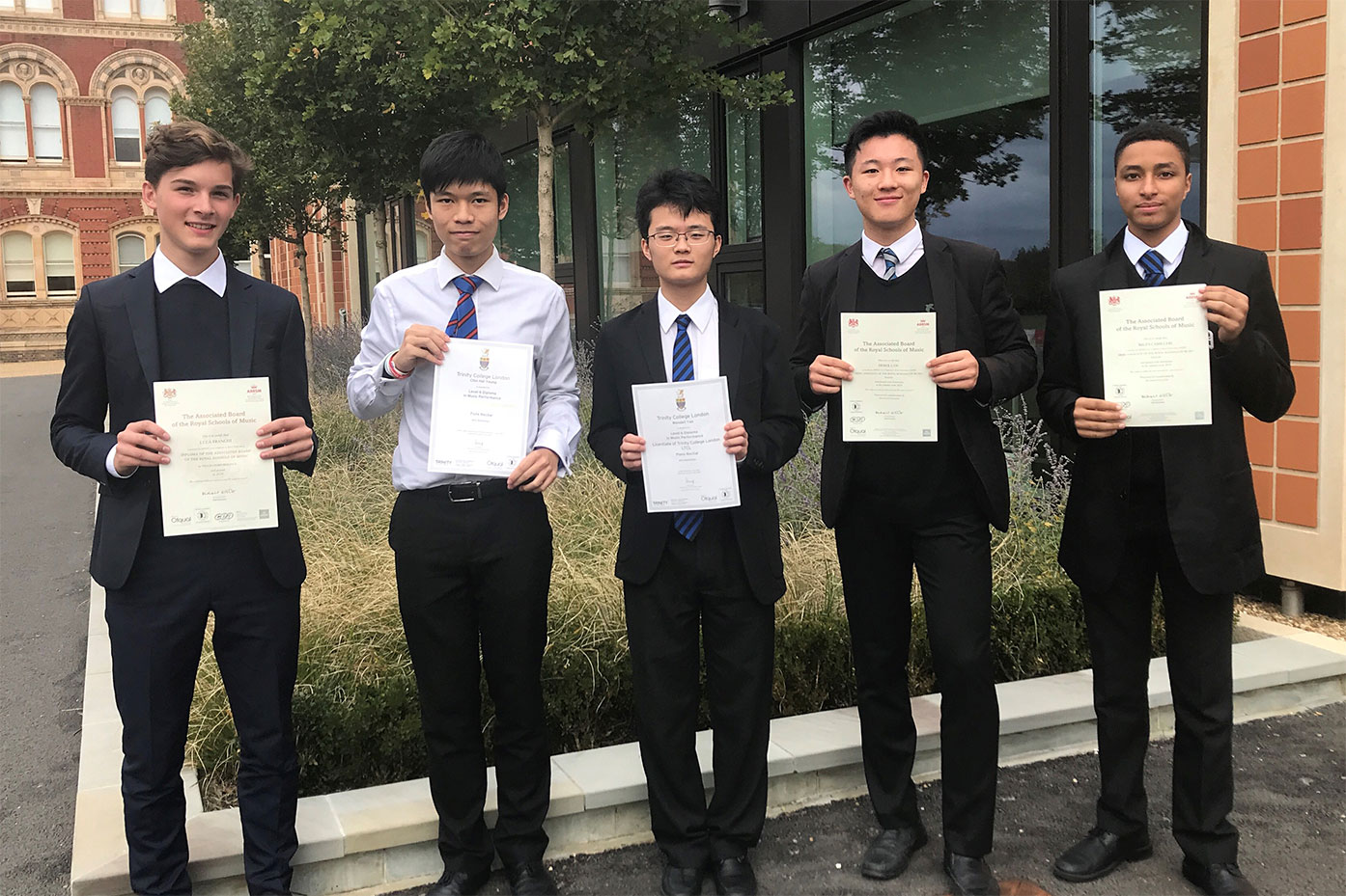 Success for Music Scholars in Performance Diplomas