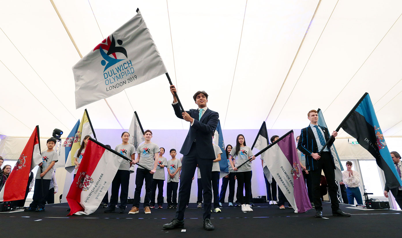 Opening Ceremony of the Dulwich Olympiad 2019
