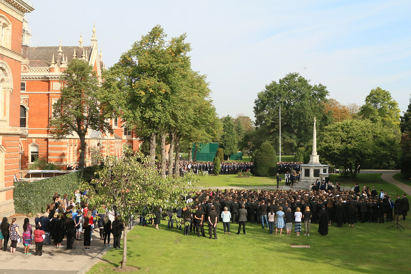 Service of Remembrance opens the quatercentenary school year