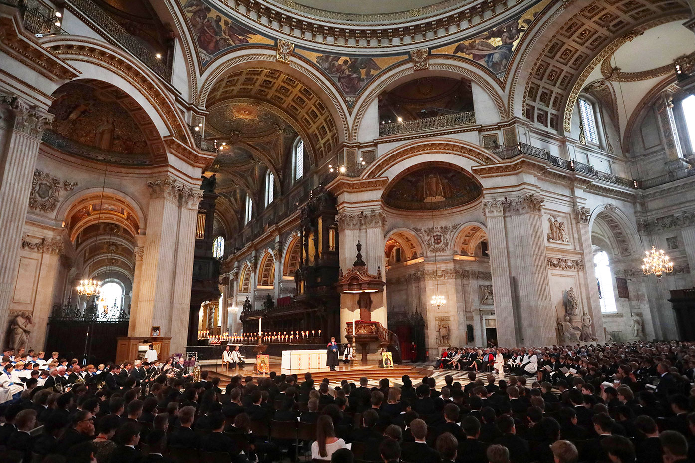 Service of Thanksgiving at St Paul's Cathedral