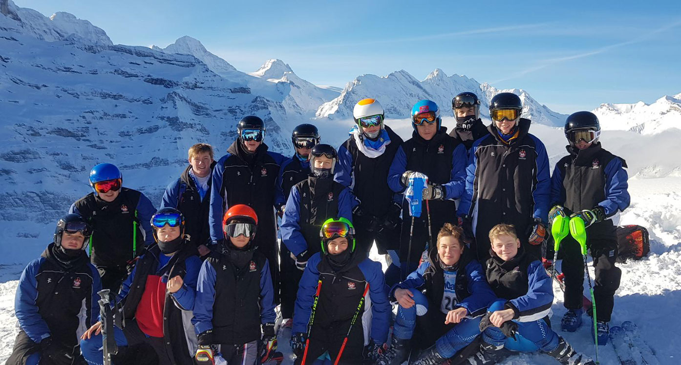Dulwich College team returns from successful Ski Racing Championships