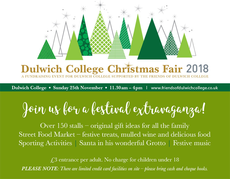 Dulwich College Christmas Fair 2018