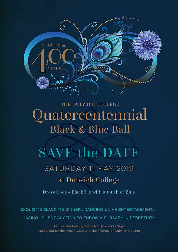 Quatercentennial Black & Blue Ball